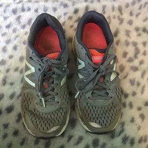 Grey new balance sneakers